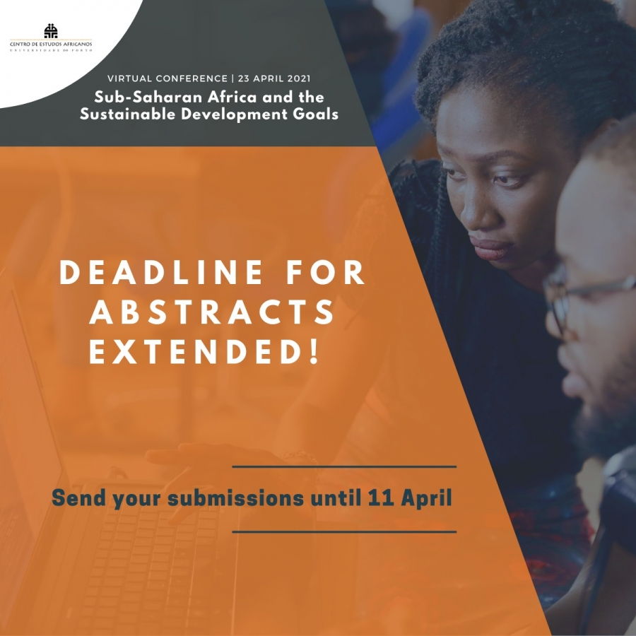 Deadline for abstracts extended for the virtual conference Sub-Saharan Africa and the Sustainable Development Goal